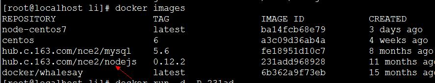 在Docker快速部署Node js应用的详细步骤